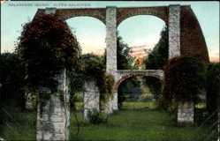 Postcard Rüdersdorf bei Berlin, Alter Kalkofen auf den Kalkberge