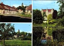 Postcard Boitzenburg Boitzenburger Land Uckermark, Boitzenburger Str., Schloss