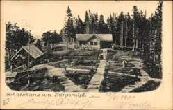 Postcard Mariazell Steiermark Österreich, Schutzhaus am Bürgeralpl