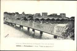 Postcard Pernambuco Brasilien, Pont Sete de Setembro, Brücke
