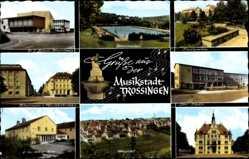 Postcard Trossingen Baden Württemberg, Musikstadt, Konzerthaus, Hohnerwerke