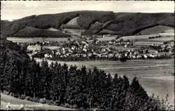 Postcard Oeventrop Arnsberg im Hochsauerlandkreis, Panorama vom Ort