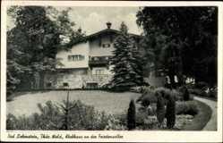 Postcard Bad Liebenstein im Wartburgkreis, Klubhaus an der Friedensallee