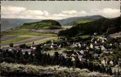 Postcard Holenberg Niedersachsen, Weserbergland, Panorama vom Ort