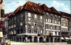 Postcard Graz Steiermark Österreich, Luegg, Straßenpartie, Ansichtskartenzentrale Kölz