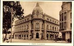 Postcard Spanische Exklave Ceuta, Ayuntamiento, Rathaus