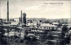 Postcard Nettingsdorf Ansfelden Oberösterreich, Fabrikanlagen, Wasserturm