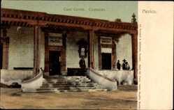 Postcard Coyoacan Mexiko, Casa Cortez, Prefectura Politica