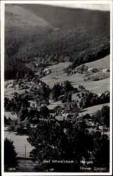 Postcard Świeradów Zdrój Bad Schwarzbach Schlesien, Oberer Ortsteil