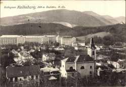 Postcard Kalksburg Niederösterreich, Kollegium, Glockenturm, Totalansicht