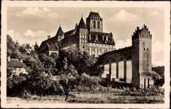 Ak Kwidzyn Marienwerder Westpreußen, Blick auf das Schloss
