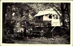 Postcard Masserberg im Thüringer Schiefergebirge, Werraquelle bei Fehrenbach