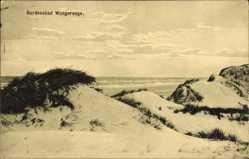 Postcard Nordseebad Wangerooge in Friesland, Partie in den Dünen, Meer