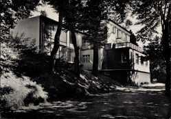 Postcard Bad Soden Salmünster im Kinzigtal Hessen, Hotel Schweizerhaus