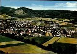 Postcard Elgershausen Schauenburg am Habichtswald, Blick auf den Ort