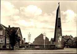 Postcard Laatzen bei Hannover, Die Ev. luth. Immanuel Kirche
