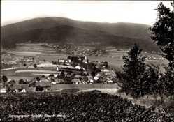 Postcard Haibühl Arrach im Bayerischen Wald Oberpfalz, Totalansicht des Ortes