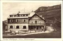 Postcard Sankt Gilgen Salzburg Salzkammergut Österreich, Gasthof Schafbergalpe