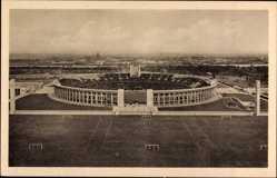 Ak Berlin Charlottenburg, Blick auf das Olympia Stadion