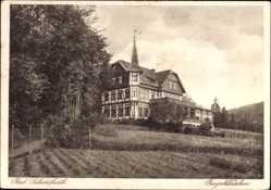 Postcard Bad Salzdetfurth in Niedersachsen, Burgschlösschen