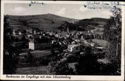 Postcard Neuhausen im Kreis Mittelsachsen, Gesamtansicht mit Schwartenberg