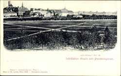 Postcard Wien 8. Josefstadt, Josefstädter Glaris und Paradiesgarten