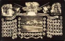 Postcard Losenstein Oberösterreich, Gefallene der Gemeinde, Weltkrieg 1914 bis 1918