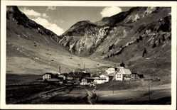 Postcard Stuben Gemeinde Klösterle Vorarlberg, Arlbergstraße, Ort im Tal