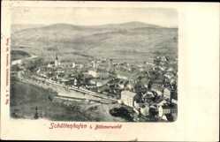 Postcard Schüttenhofen im Böhmerwald Reg. Pilsen, Totalansicht der Ortschaft