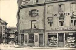 Postcard ArlonArel Wallonien Luxemburg, Marche aux Legumes et Grand' Rue, Prognier
