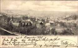 Postcard Česká Kamenice Böhm. Kamnitz Reg. Aussig, Totalansicht der Ortschaft