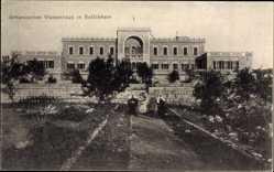 Postcard Betlehem Palästina, Blick auf Armenisches Waisenhaus, Jerusalemsverein