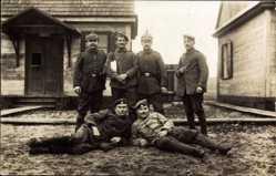 Foto Ak Brest Litowsk Weißrussland, Schütze Heinrich Maas, Sanitätsschule 3 VI