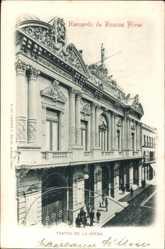 Postcard Buenos Aires Argentinien, Recuerdo, Teatro de la Opera, Fassade