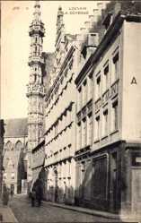 Postcard Louvain Leuven Flämisch Brabant, La Doyenné, In de Munt