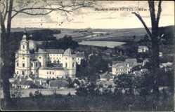 Postcard Křtiny Kiritein Südmähren, Blick auf das Schloss, Umgebung