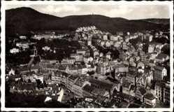 Postcard Karlovy Vary Karlsbad Stadt, Gesamtansicht der Stadt