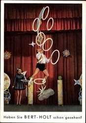 Ak Haben Sie Bert Holt schon gesehen, Zirkusartist, Jonglierer