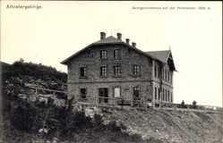 Ak Jeseník Freiwaldau Reg. Olmütz, Altvatergebirge, Georgschutzhaus, Hochschar