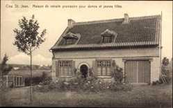 Postcard Maredret Wallonien Namur Belgien, Clos St. Jean, Maison de tretraite