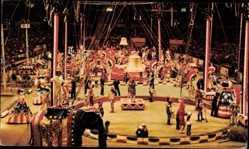 Ak Super Spectacular, Barnum and Bailey Circus, Zirkusarena