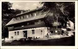 Postcard Novy Rychnov Reg. Hochland, Hütte vom Kremeschnik, Frontansicht