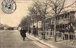 Postcard Montreuil Seine Saint Denis, Station des Tramways, Gagny, Villemomble