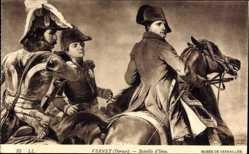 Künstler Ak Vernet, Horace, Bataille d'Iena, Napoleon Bonaparte