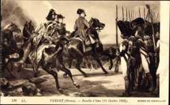 Künstler Ak Vernet, Horace, Bataille d'Iena 1806, Napoleon Bonaparte