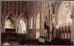 Postcard Choir, Wells, Kirche, Innenansicht, Judges Ltd 3392