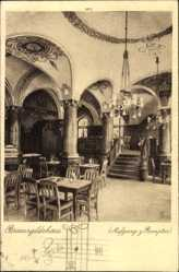 Postcard Hannover in Niedersachsen, Brauereigildehaus, Fr. Bock, Aufgang z. Rempter