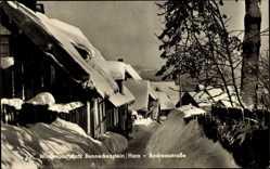 Postcard Benneckenstein Oberharz am Brocken, Blick in die Andreasstraße