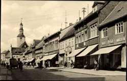 Postcard Gardelegen im Altmarkkreis Salzwedel, Blick in die Ernst Thälmann Straße