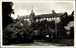 Postcard Ilsenburg am Nordharz, Blick auf das Schloss, Evangelisches Auslands Seminar